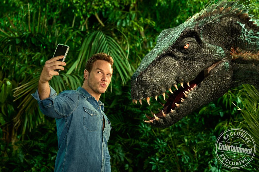 'Jurassic World: El reino caído' para Entertainment Weekly #4
