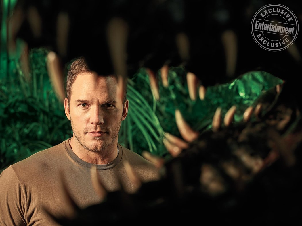 'Jurassic World: El reino caído' para Entertainment Weekly #5