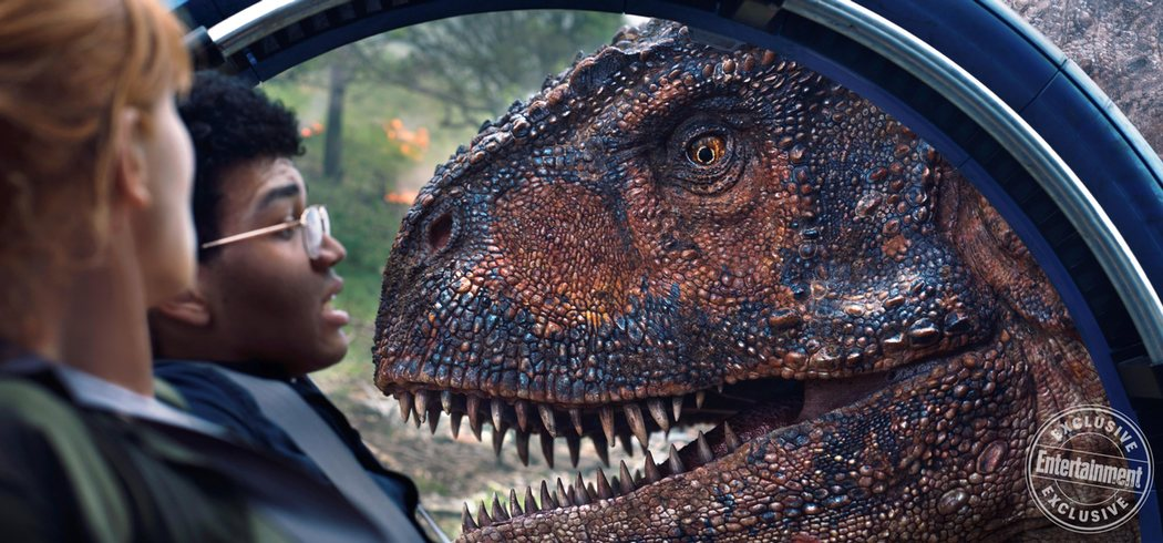 'Jurassic World: El reino caído' para Entertainment Weekly #8