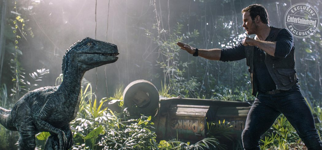 'Jurassic World: El reino caído' para Entertainment Weekly #10