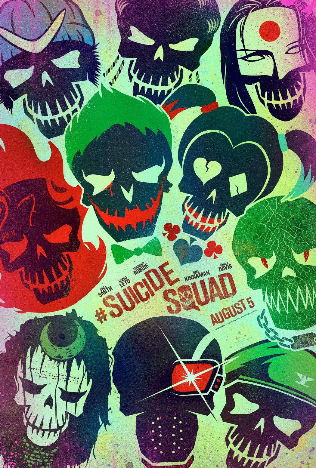 'Escuadrón Suicida' Póster película