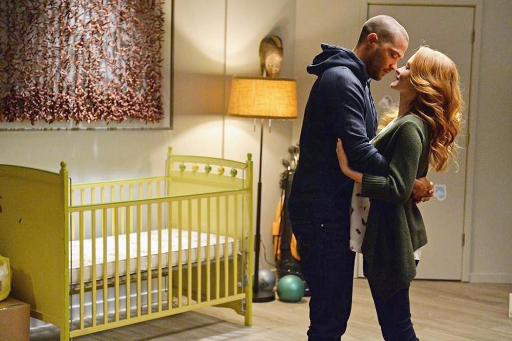 Embarazos en el set