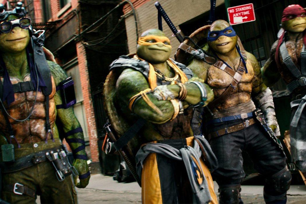 Las tortugas ninja como parodia
