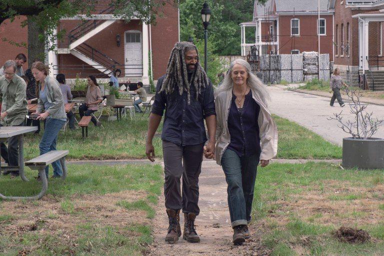 Ezekiel y Carol Peletier