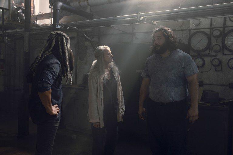 Carol Peletier, Ezekiel y Jerry