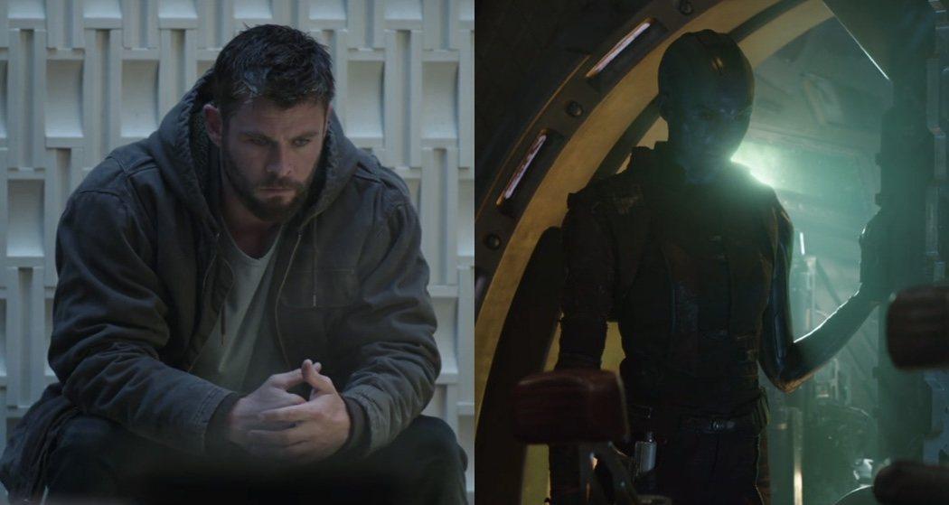 Thor, pensativo y furioso y Nébula, ¿meláncolica?