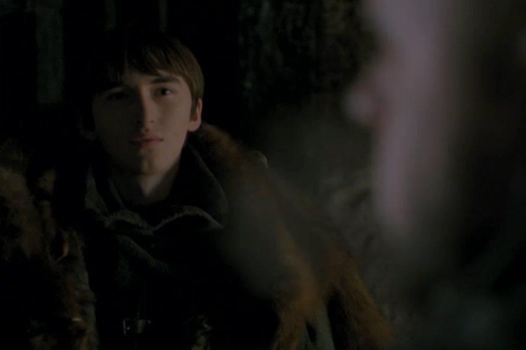 ¿Con quién está hablando Bran?