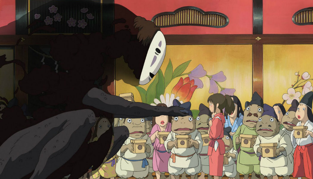'El viaje de Chihiro' - 2002
