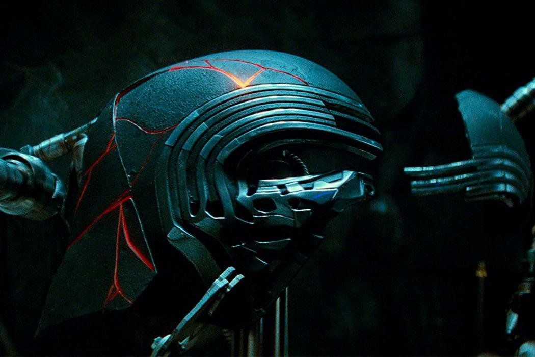El casco de Kylo