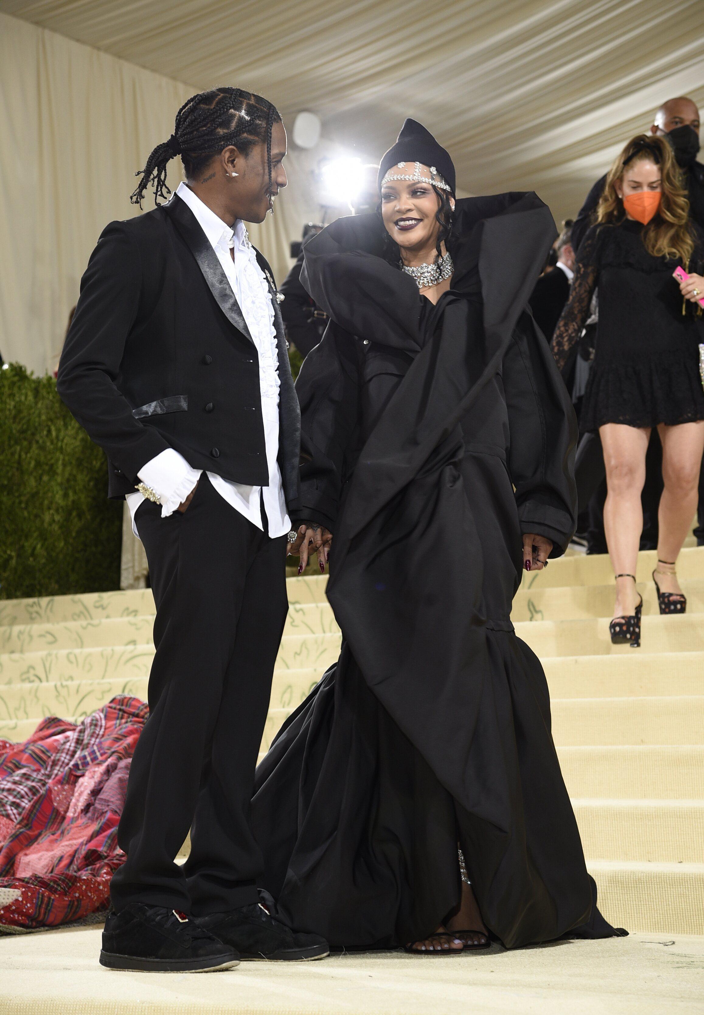 ASAP Rocky y Rihanna