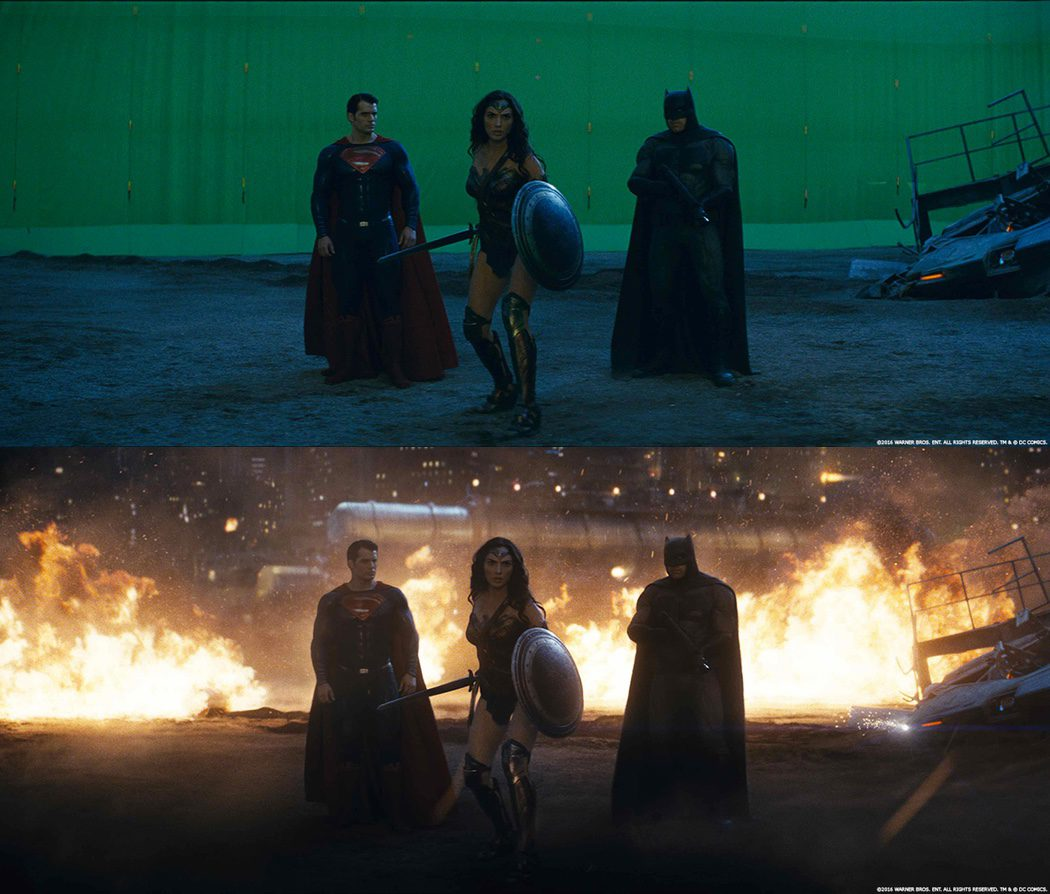 Wonder Woman, Batman y Superman en 'Batman v Superman'