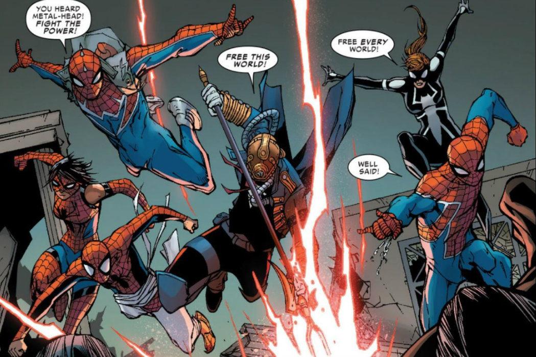 Spiderman vs Morlun