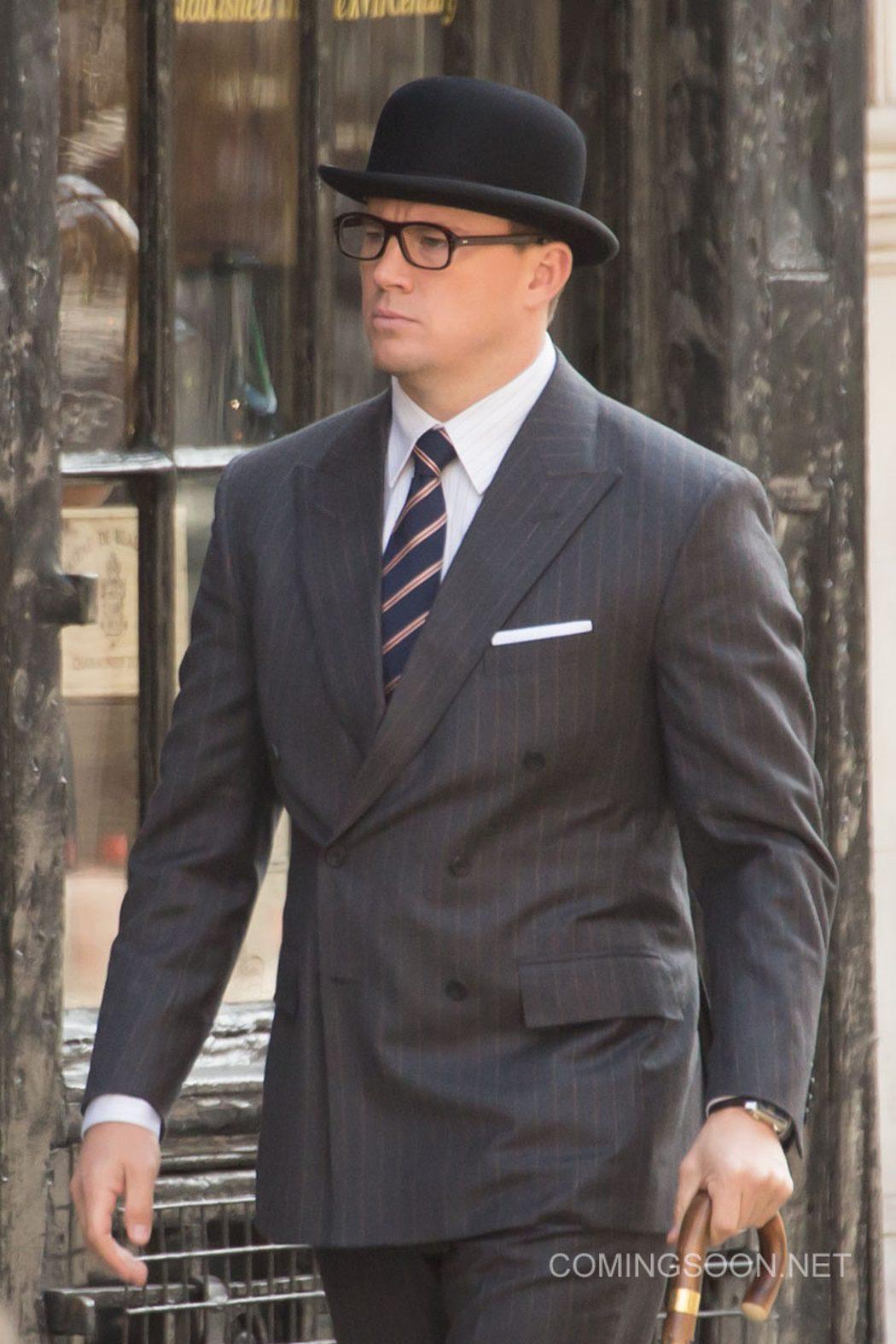 Channing Tatum vestido como un auténtico Kingsman
