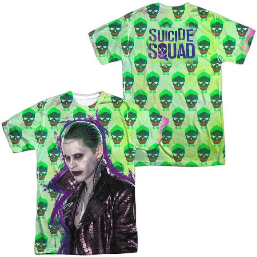 Camiseta de El Joker (imagen Jared Leto)