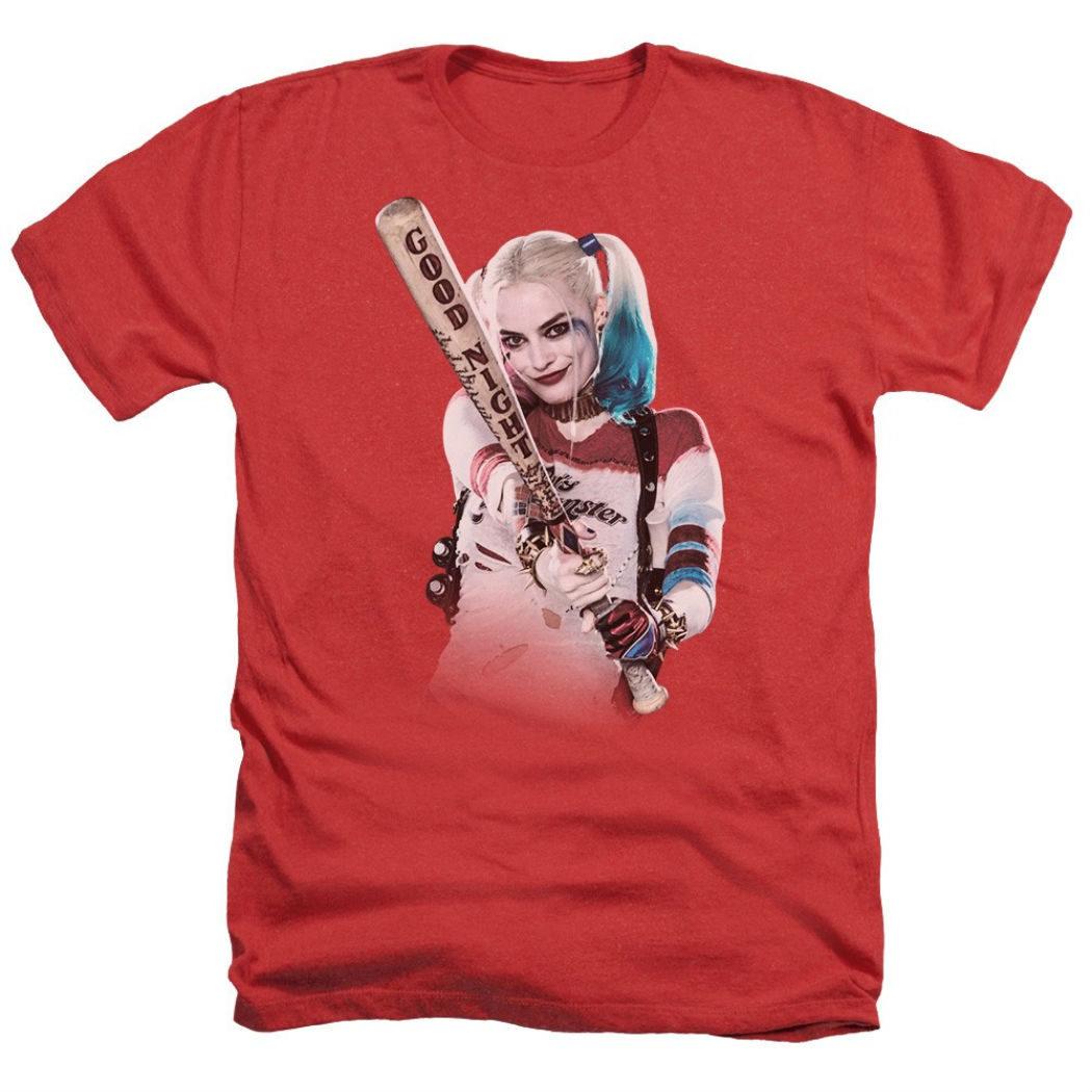 Camiseta roja de Harley Quinn